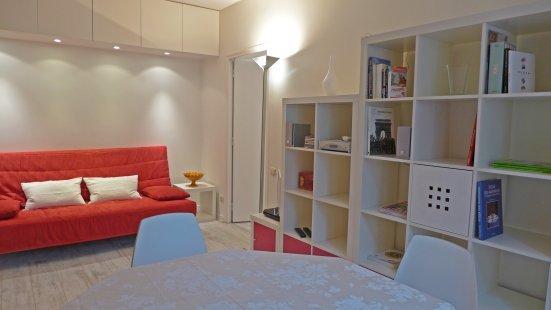 Le séjour - One bedroom   Paris Luxembourg district (946) - Paris - rentals
