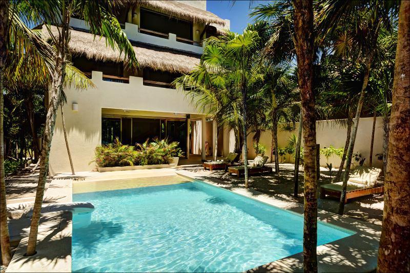 Villa Soliman New Beach Front Luxury Villa Tulum - Image 1 - Soliman Bay - rentals