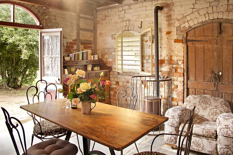 Dining Area - The Diggers Store B&B: self contained 1850s stable - Castlemaine - rentals