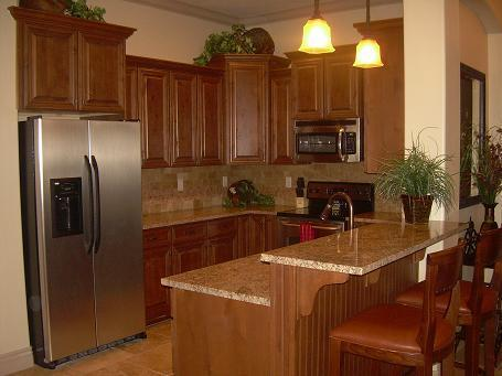 Beautiful kitchen with granite counter tops and lovely bar area - # B10 Coral Springs Resort - Hurricane - rentals