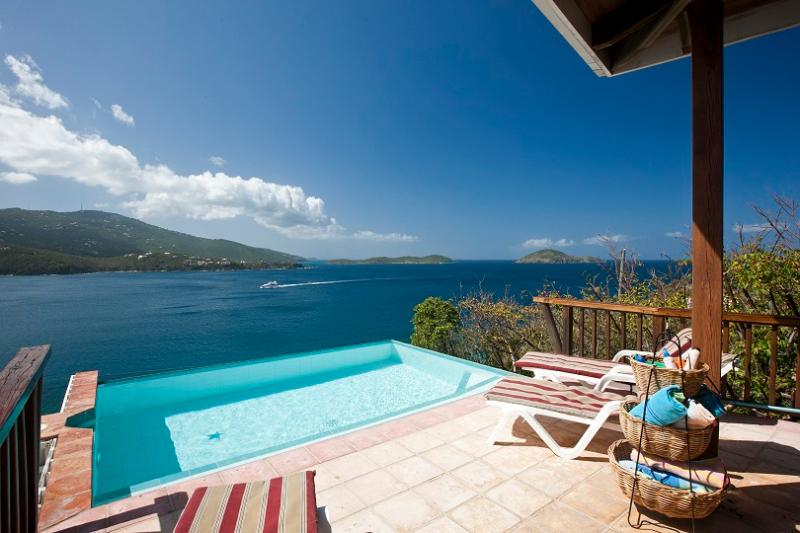 Stargate - Ideal for Couples and Families, Beautiful Pool and Beach - Image 1 - Saint Thomas - rentals