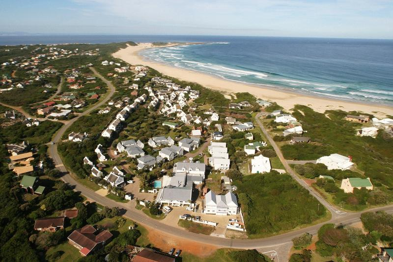 Aerial view of the Resort - Cape St Francis Resort  - beach appartments - Cape Saint Francis - rentals