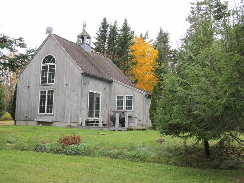 Front of cottage. - Swedish Cottage - Gouldsboro - rentals