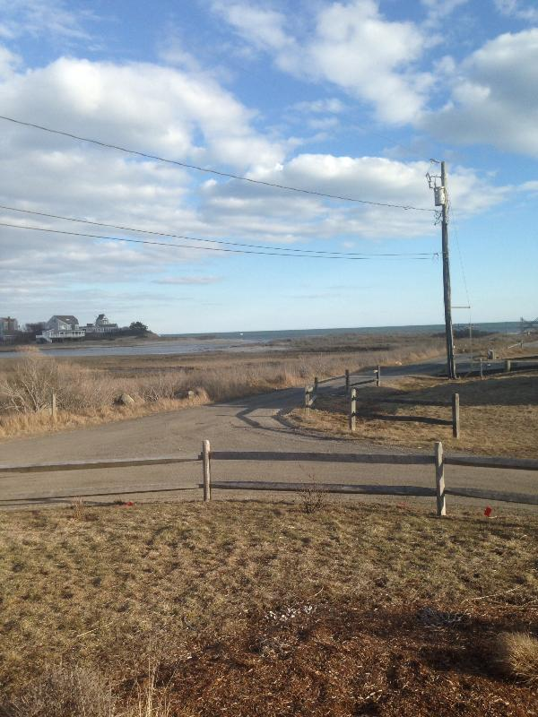 View from cottage Swan River and Nantucket sound - Unobstructed Walkout to Two Beaches - West Dennis - rentals