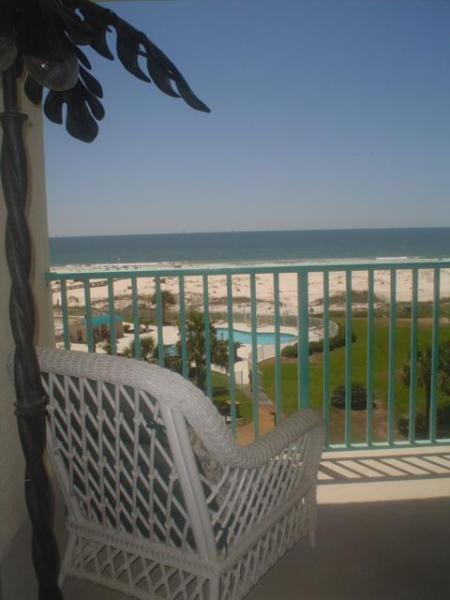 Beautiful Balcony View. Take a siesta! - Magnificent Beachfront Condo,2 Bedroom,Plantation Palms, - Gulf Shores - rentals