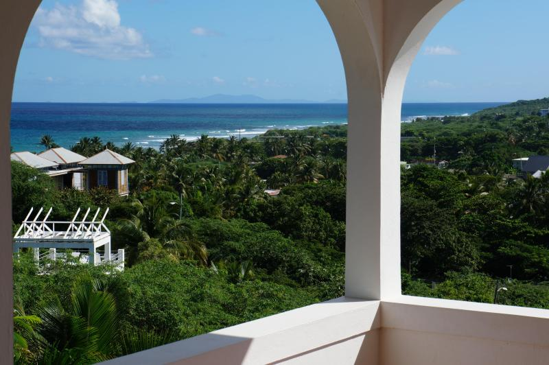 Upstairs Balcony View - Tres Arcos:New Gorgeous Expansive Sea View Listing - Isla de Vieques - rentals