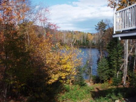 View - Lakefront Rental - Breathtaking View - Saint-Adolphe-d'Howard - rentals