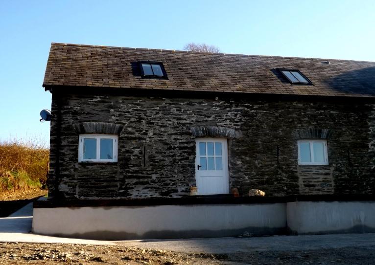 Front entrance - The Dairy - Boncath - rentals