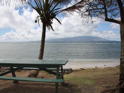 Pu'unana- Picnic Table - Dunbar Beachfront Cottages- Pu'unana Cottage - Waialua - rentals