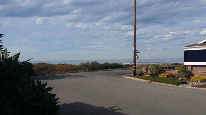 View of Ocean from Front Door - Just Steps to the Sand! - Morro Bay - rentals