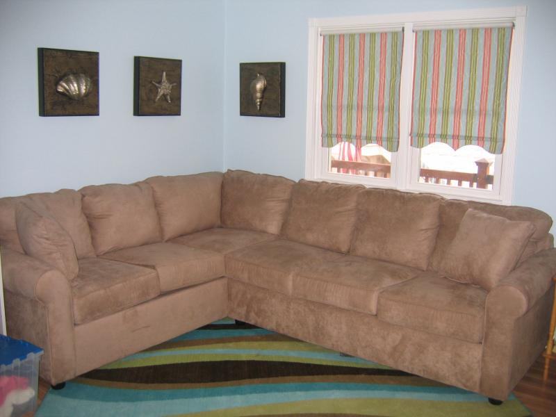 Family Room area with pull out full sized sofa - Adorable Oceanblock Studio Condo,Center of Town. - Rehoboth Beach - rentals