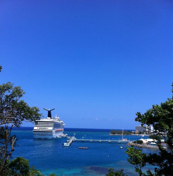 the view from the balcony - Avanti in Ocho Rios sea view - Ocho Rios - rentals