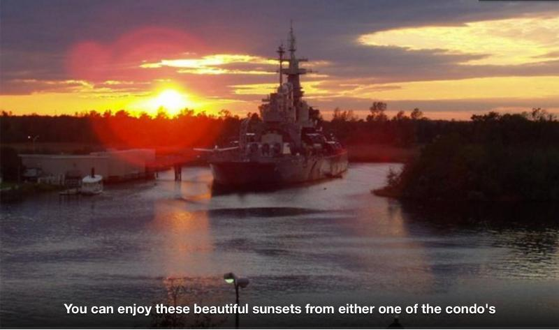 Beautiful sunsets from your top floor balcony! - Historic Downtown Waterfront n - Wilmington - rentals