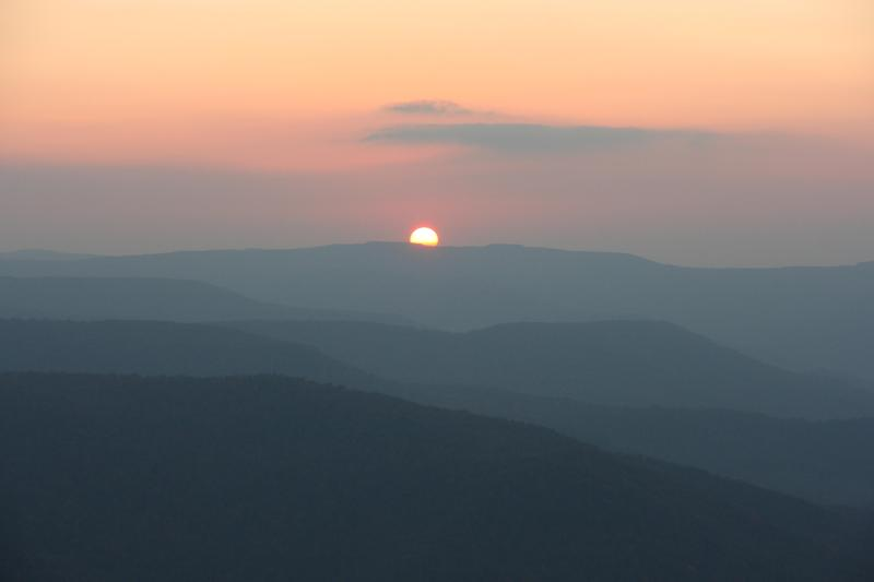 Beautiful Sunset from the Balcony - Beautiful 2BR/2BATH Condo in Snowshoe Village - Snowshoe - rentals