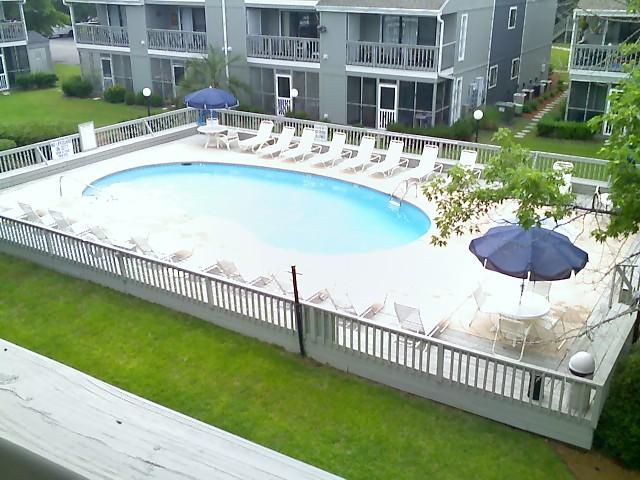 Pool View from Balcony - Quiet and Peaceful 24H - Surfside Beach - rentals