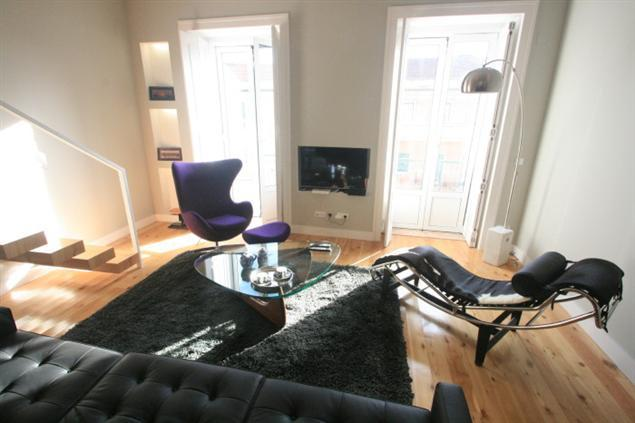 Living Room - BoavistaArts Duplex 160M2 new  @  Lisbon heart - Lisbon - rentals