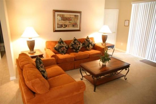 4 Bedroom 3 Bath Villa with Spa and 2 Master Suites - Image 1 - Orlando - rentals