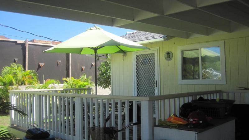deck - Waimanalo Beach - Waimanalo - rentals