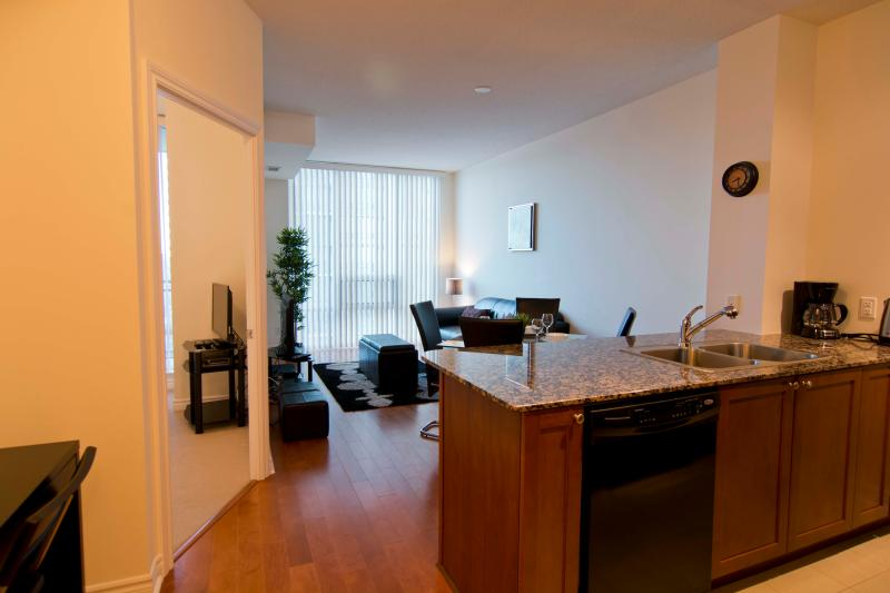 View from the entrance - Deluxe 1 Bedroom Suite near Square One - Mississauga - rentals