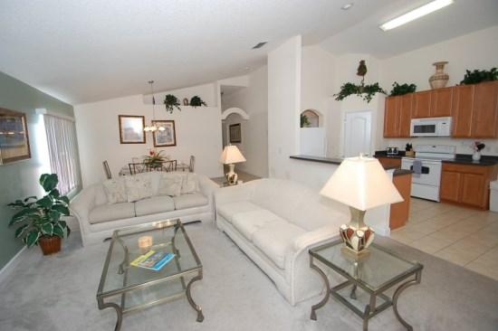 Pet Friendly 4 Bed 3 Bath Private Pool Home near Disney. 519OBC - Image 1 - Orlando - rentals