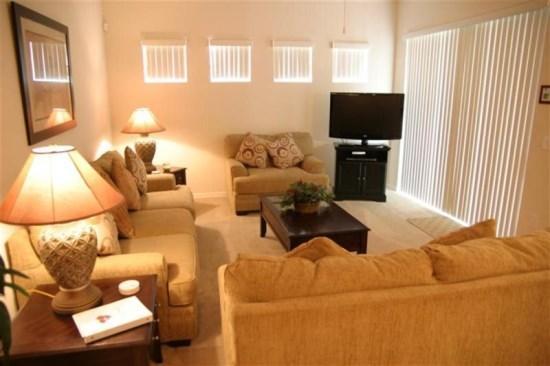 Spacious 5 Bed 4 Bath Villa With Pool and Spa. 722TH - Image 1 - Orlando - rentals
