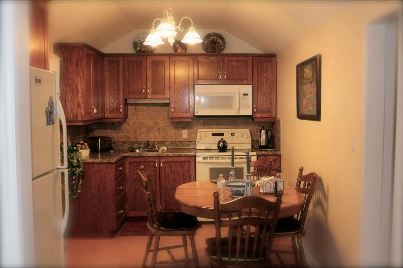 Fully Equipped Kitchen - 126 Andrew Drive on Farlain Lake - Tiny - rentals