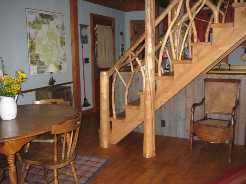"Dining - UPPER SARANAC LAKEFRONT CAMP  ""DOCTOR'S OUT"" - Saranac Lake - rentals"