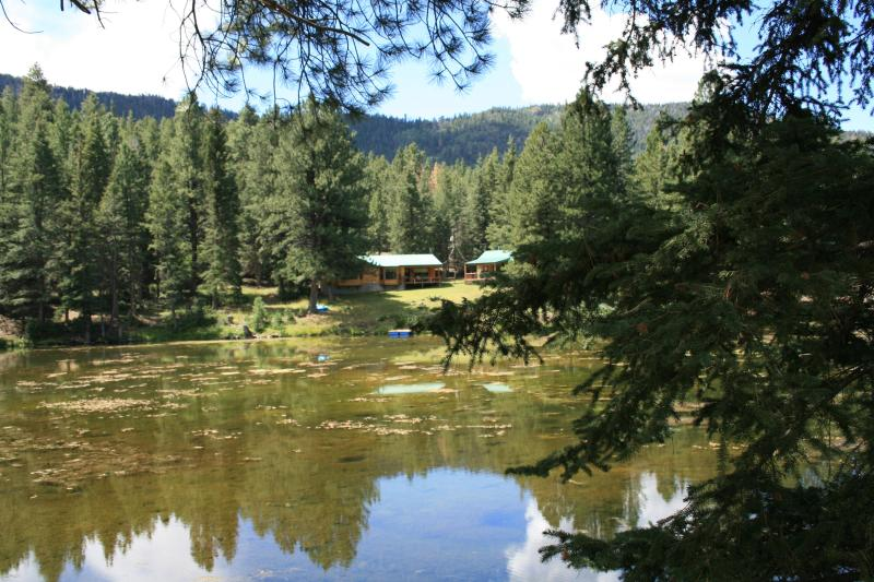 """From across the lake - """"Bella Pines"""" Mountain fishing and vacation Cabin - Beaver - rentals"""