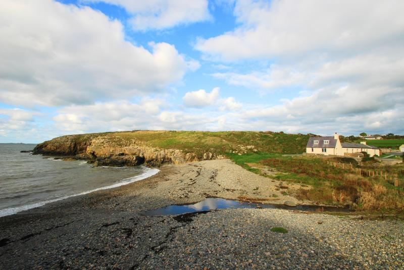 The Cable, a luxury cottage with its own beach! - Image 1 - Rhydwyn - rentals