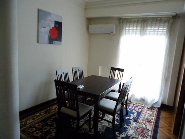 Sala comedor, c/aire acondicionado - Apartment Montevideo Center 3 bedroom, acc. 7 - Montevideo - rentals