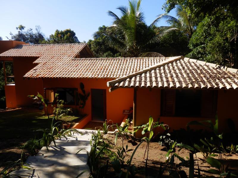 Casa Miranda Entrance. - Vacation home in Trancoso Bahia Brasil - Casa Miranda. - Trancoso - rentals