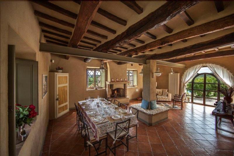 Living room - Casolare la Trebbia - San Giovanni d'Asso - rentals