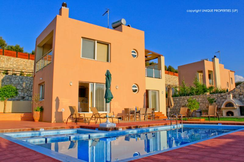 Exterior - Private Pool - Luxury Villa, Private Pool, Sea View, Sandy Beach - Chania - rentals