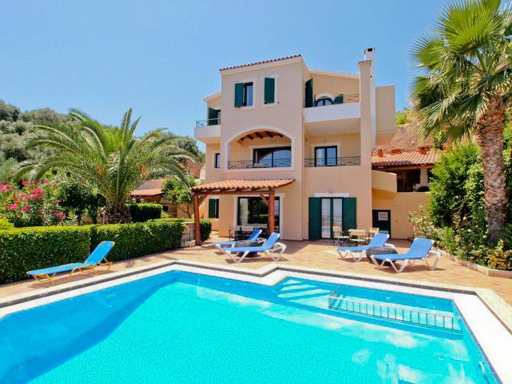 Exterior - 6 Bedroom Luxury Villa, Private Pool, Sea View - Chania - rentals