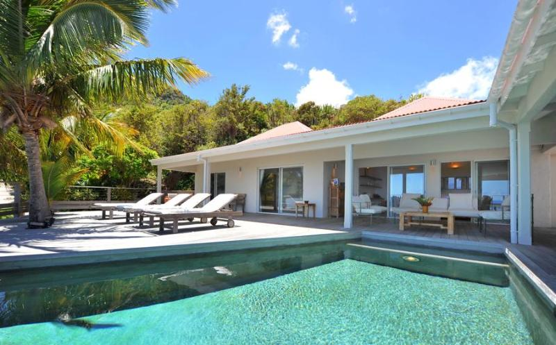 Roy at Vitet, St. Barth - Ocean and Lagoon View, Pool and Deck, Perfect For Families - Image 1 - Vitet - rentals