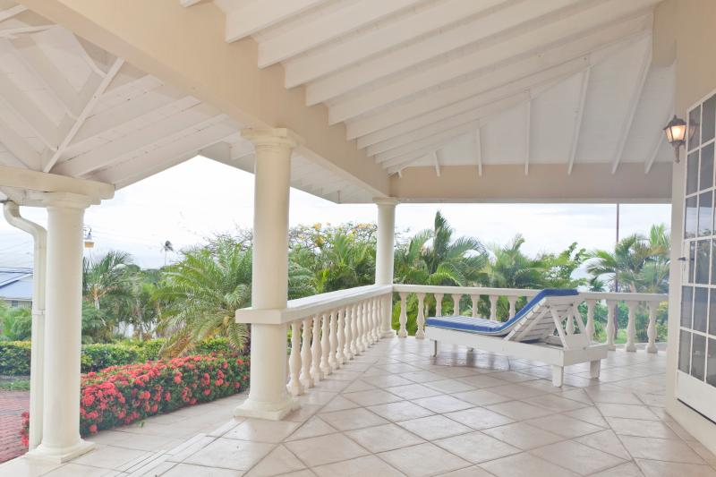 Enjoy beautiful panoramic views from the wrap around patio. - Coolo Breezo - Beautiful Panoramic Views of Tobago - Lambeau - rentals