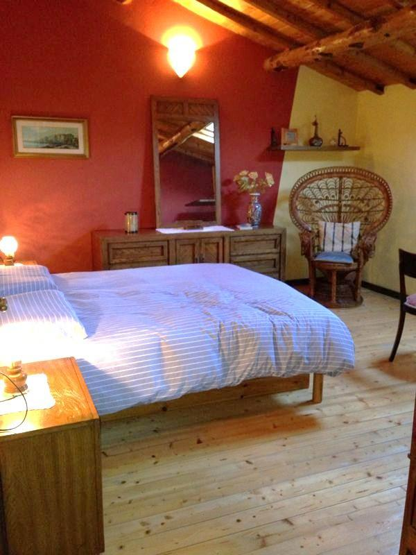 Bedroom n. 1 - Tuscany's lovers...  ancient, cozy home + garden - Pistoia - rentals