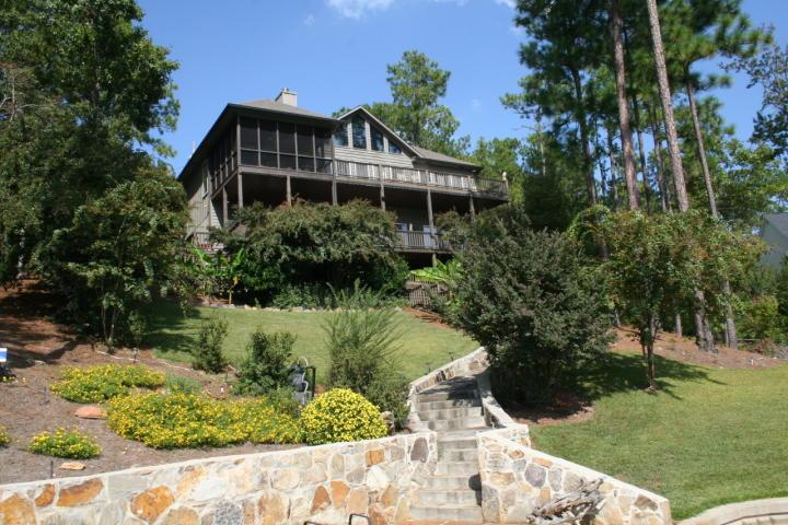 Lake Level view - 5 BR 4Ba House on Beautuful (crystal clear water) Lake Martin, Alabama - Dadeville - rentals