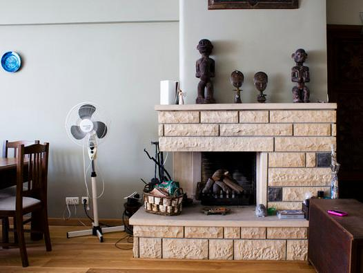 fireplace - Outstanding duplex flat @ Istanbul's shopping area - Istanbul - rentals