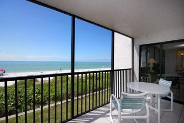 ANOTHER VIEW OF LANAI AND VIEW - Sundial E210 - Sanibel Island - rentals