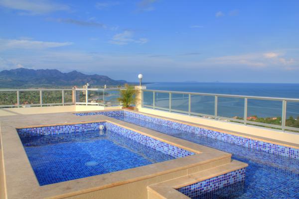 Rooftop pool (1 of 4 to choose from!) - Brand new 2 bdrm Coronado Golf 28th floor, VIEWS! - Coronado - rentals