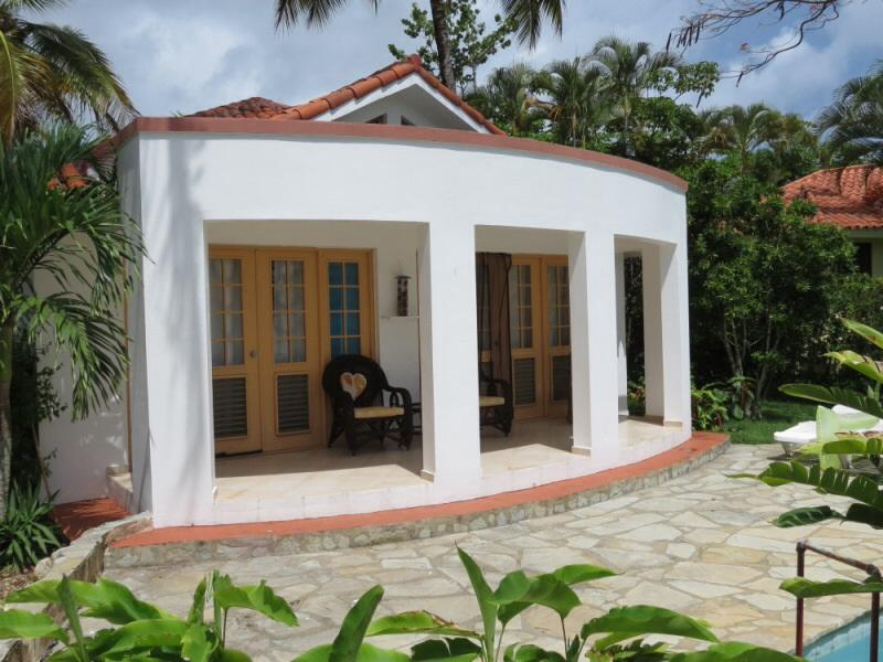 Coffee on the patio in the morning, margaritas at night! - 2BED  2BATH VILLA private pool in secure gated community Casa Linda Between Sosua & Cabarete - Alto de Cana - rentals