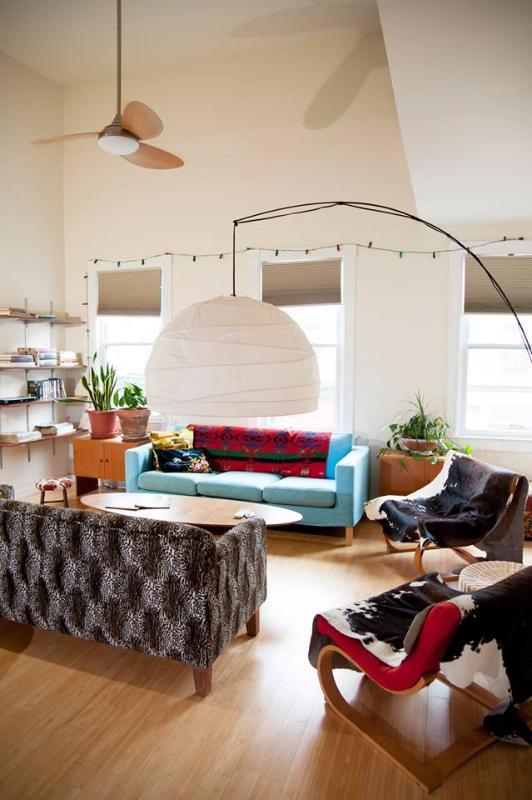 Sun-filled living room - Spacious Sun-filled  Loft - Saugerties - rentals