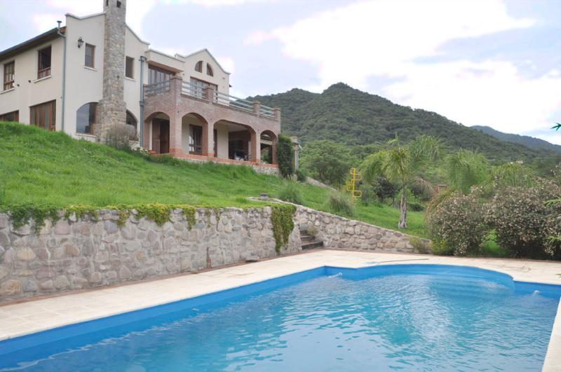 Front of house with pool - As Seen on House Hunters International in Salta - San Lorenzo - rentals