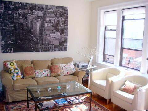 Living room - Beautiful apartment 10 min subway ride from Manhattan - Jersey City - rentals