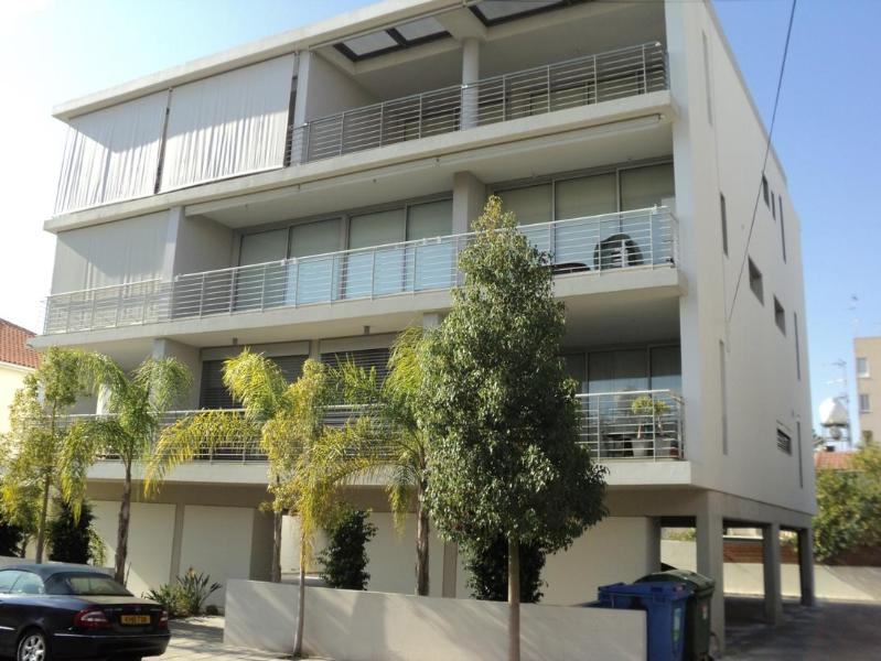 General view of the building - New modern 2-bedr apartment in Nicosia - Nicosia - rentals