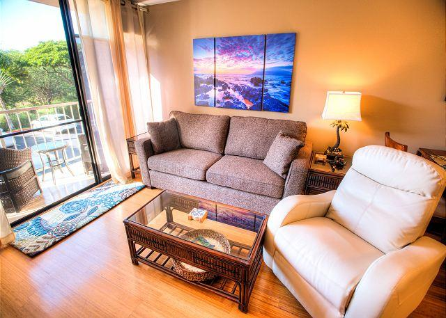 Modern 2 Bedroom Fully Air-Conditioned Condo across from Kamaole Beach Park - Image 1 - Kihei - rentals
