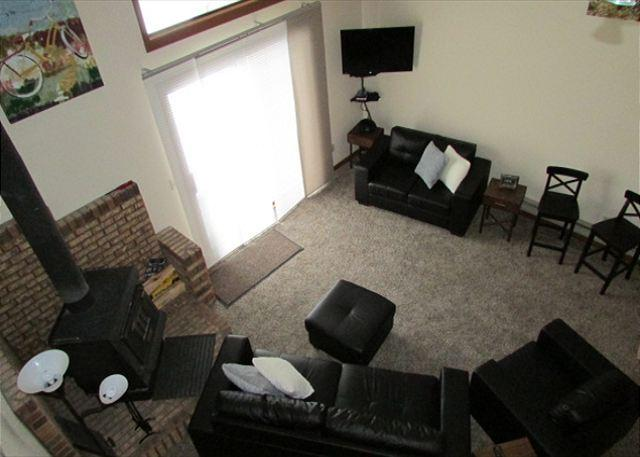 Living Room - Modern Condo close to Park, Beach and McCall Golf Course - McCall - rentals
