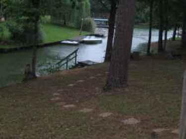 View of Lake edge / Dock - Tranquil Lake House - Lake Oconee, Georgia - Buckhead - rentals