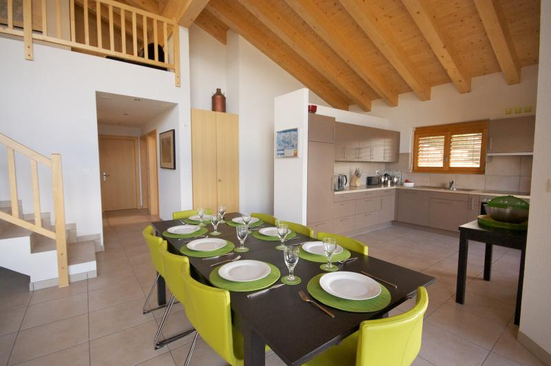 155m² dining and living area - Veysonnaz Chalets, Veysonnaz, 4 Vallées, Switz. - Veysonnaz - rentals